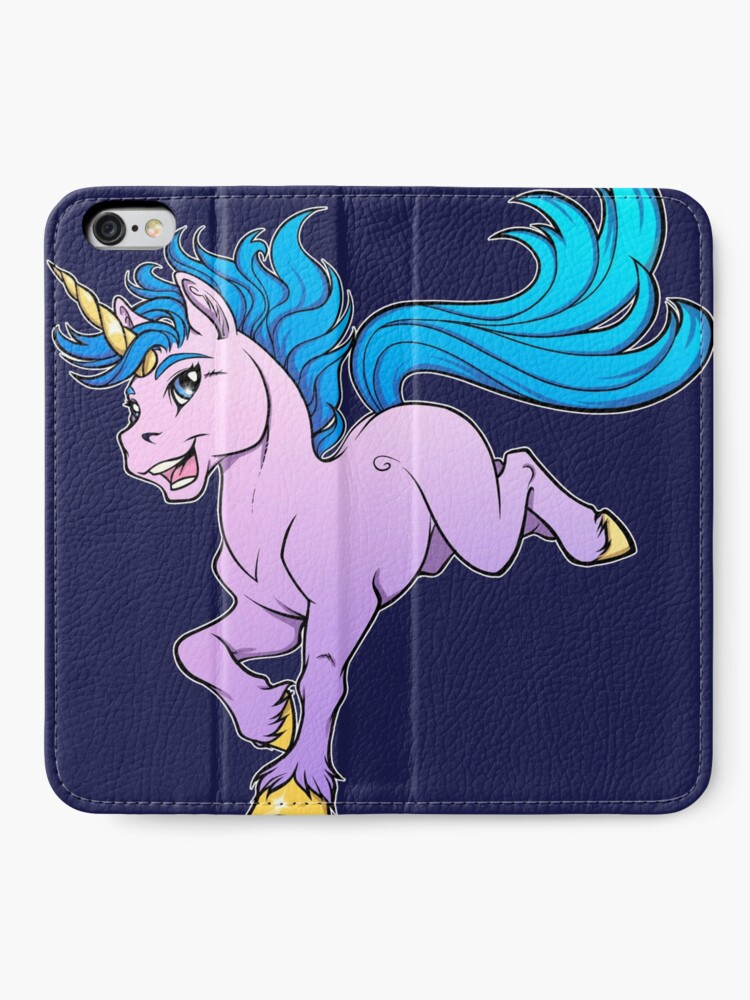 Alternate view of Sweet Sparkle Unicorn iPhone Wallet
