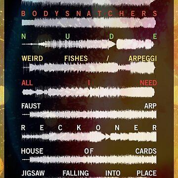 Radiohead - In Rainbows - Onda de sonido de TM490