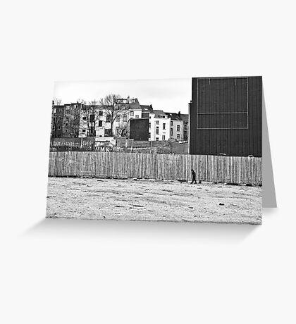 Urban segregation Greeting Card