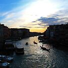 The Grand Canal, Venice, Italy by georgelim