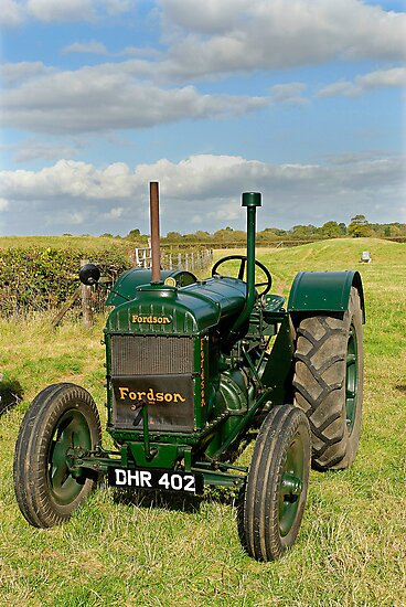 1942 Model N Fordson vintage tractor by David Carton