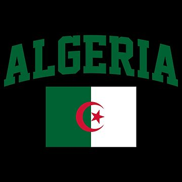 Algeria Flag by MillSociety