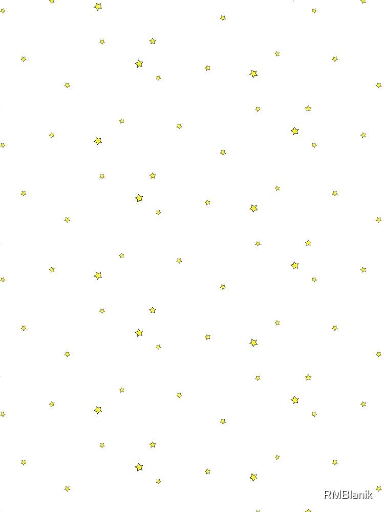 Die kleinen Sterne _prince - 5 (weiß) von RMBlanik