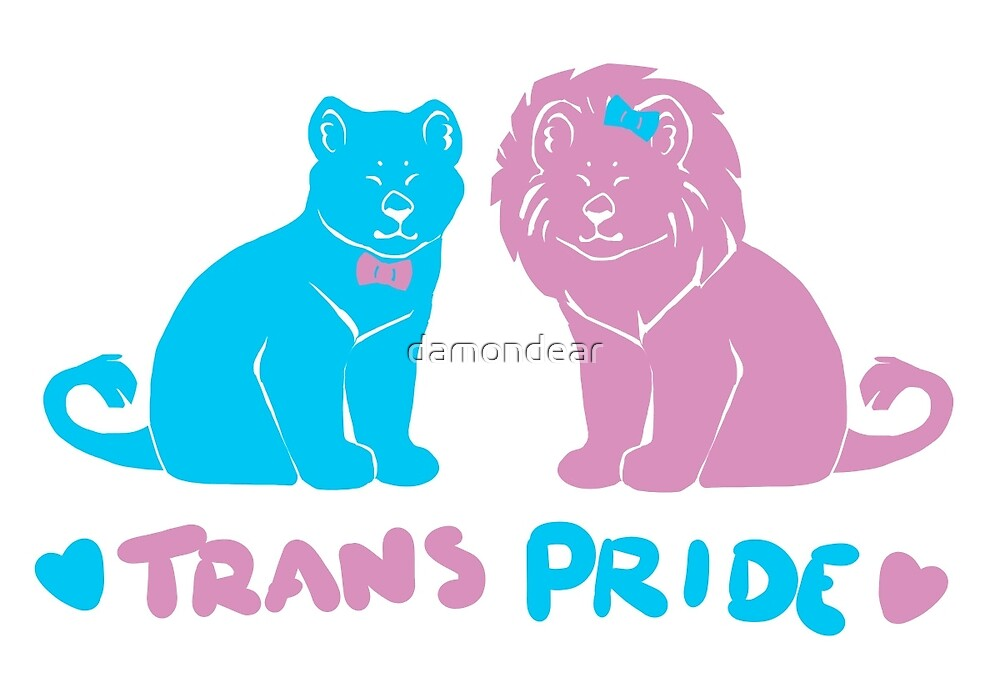 happy trans lions 2.0 by damondear