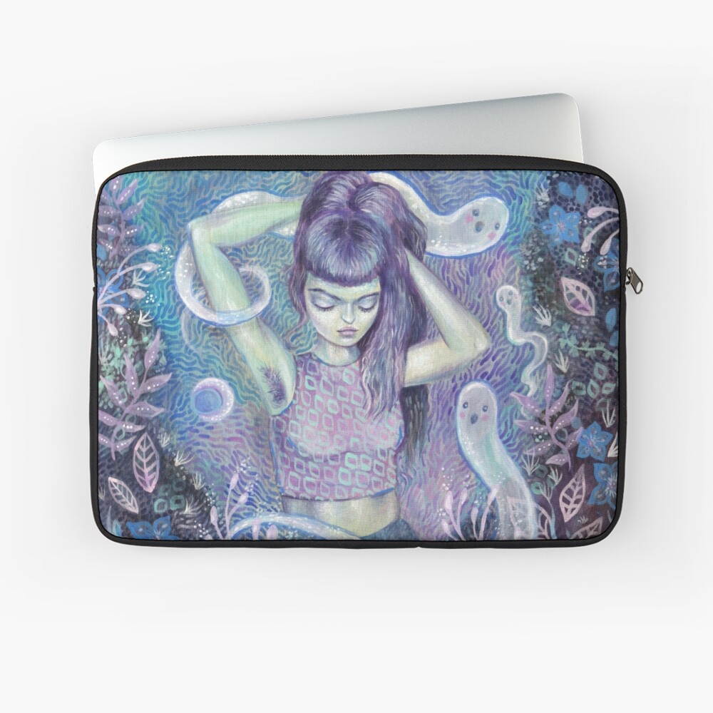 Conjuring the Muse Laptop Sleeve