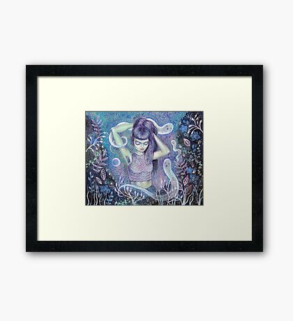 Conjuring the Muse Framed Print