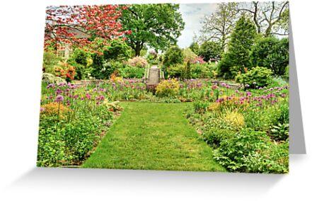 Chanticleer Circle Garden by Marilyn Cornwell