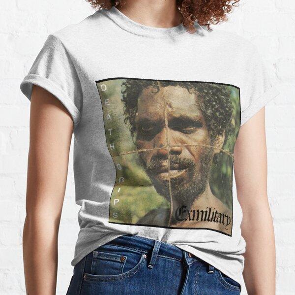 Puños de muerte Exmilitar Camiseta clásica