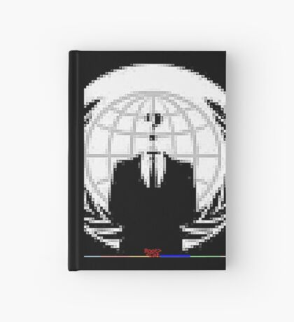 _A^NON PIXEL ^RT by RootCat __2019 Hardcover Journal