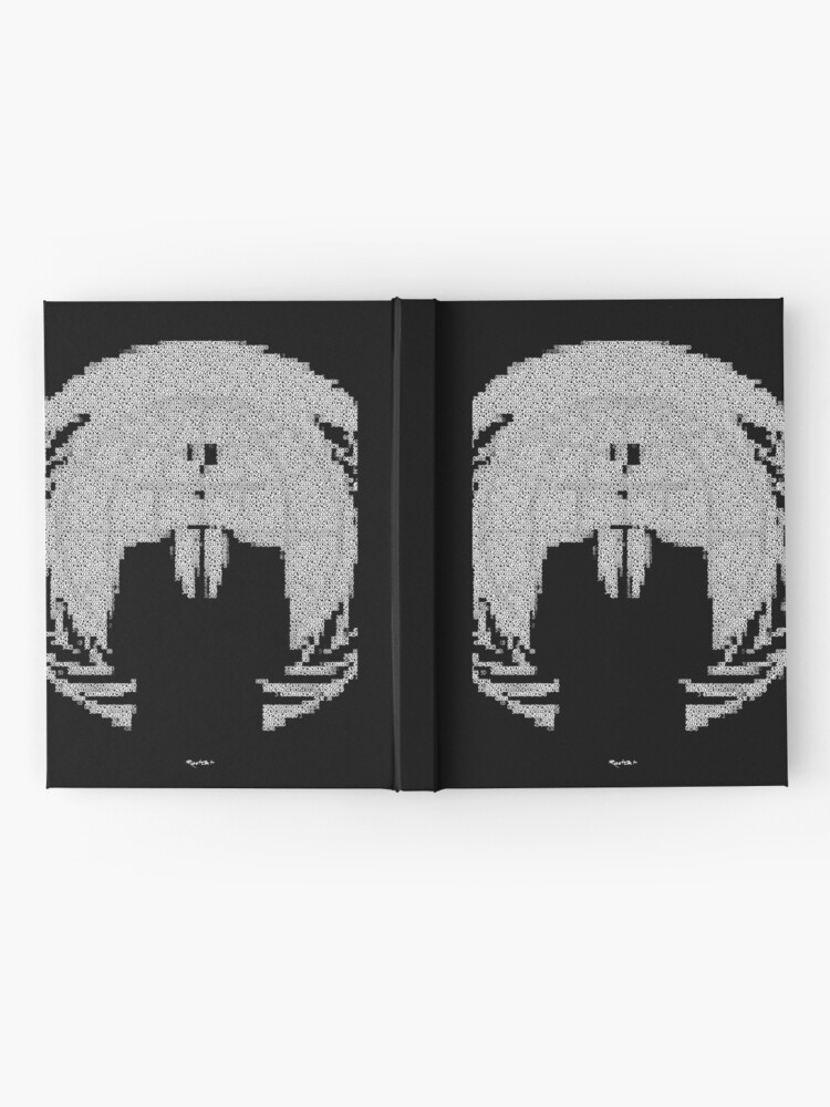 Alternate view of _A^NON ASCii ^RT by RootCat __2019 Hardcover Journal