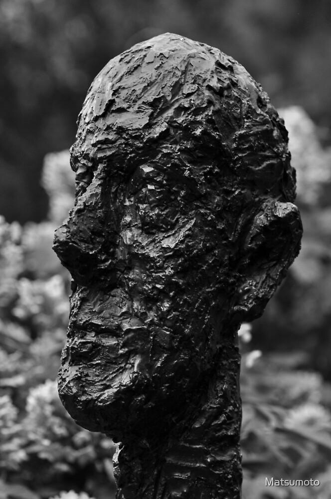 Monumental Head by Alberto Giacometti - Hirshhorn Museum, Washington, D.C. by Matsumoto