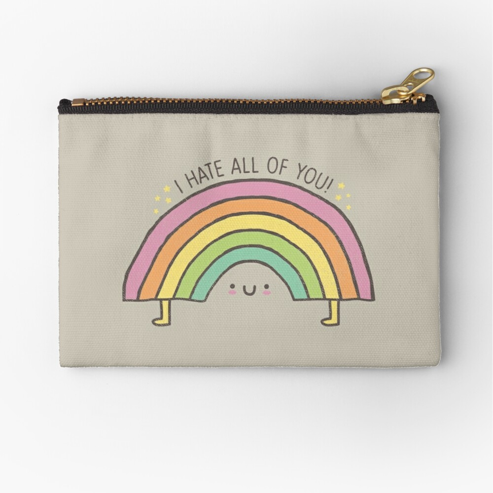 TRUTH BE TOLD.... Zipper Pouch