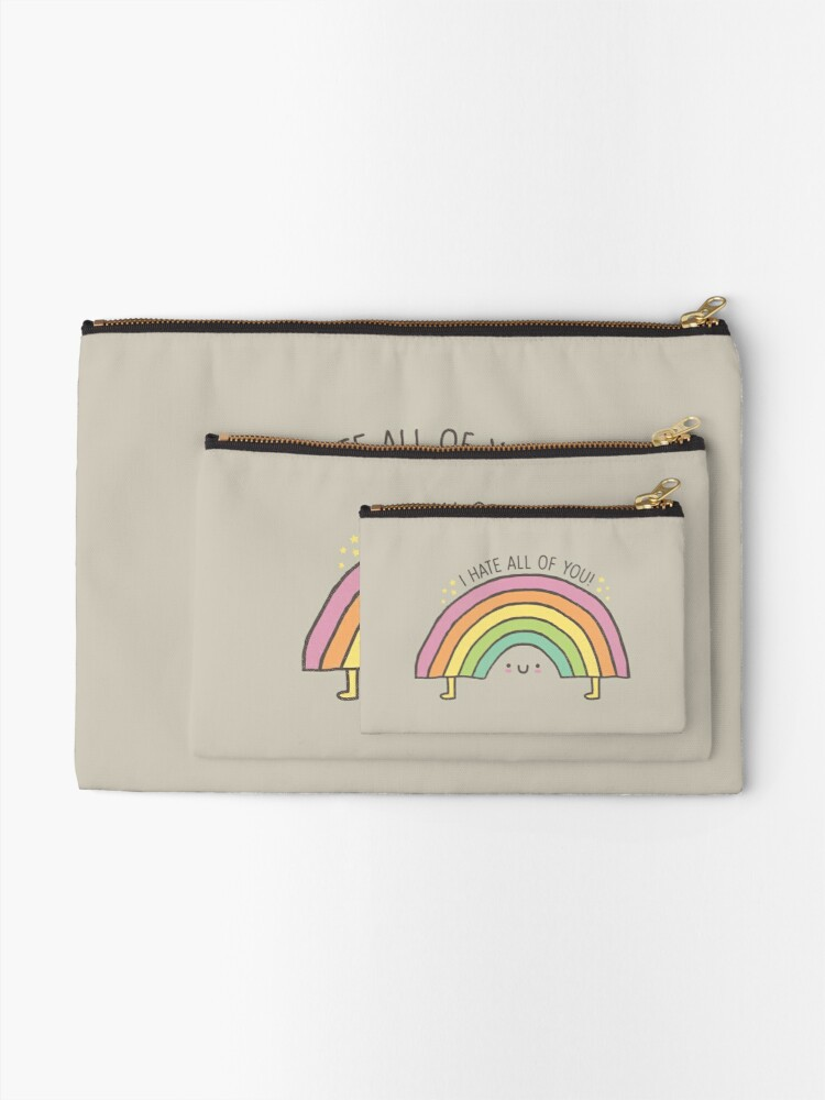 Alternate view of TRUTH BE TOLD.... Zipper Pouch