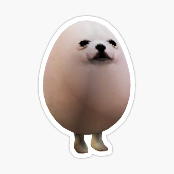 Eggdog Sticker