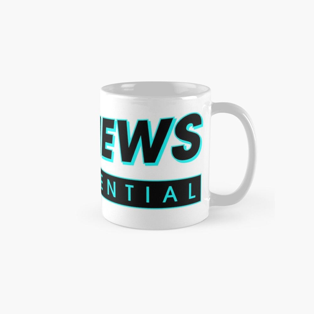 Fake News Confidential Logo Mug