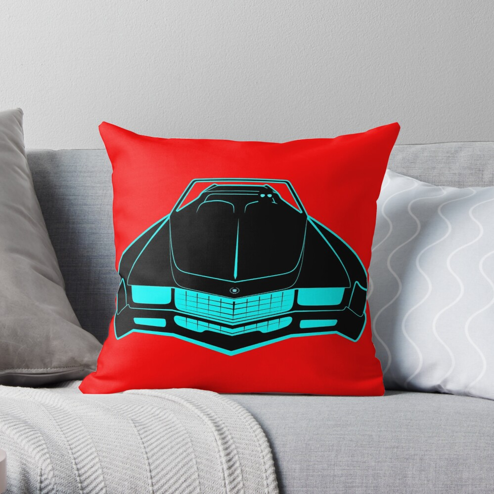 Cadillac Eldorado - Fake News Confidential Throw Pillow