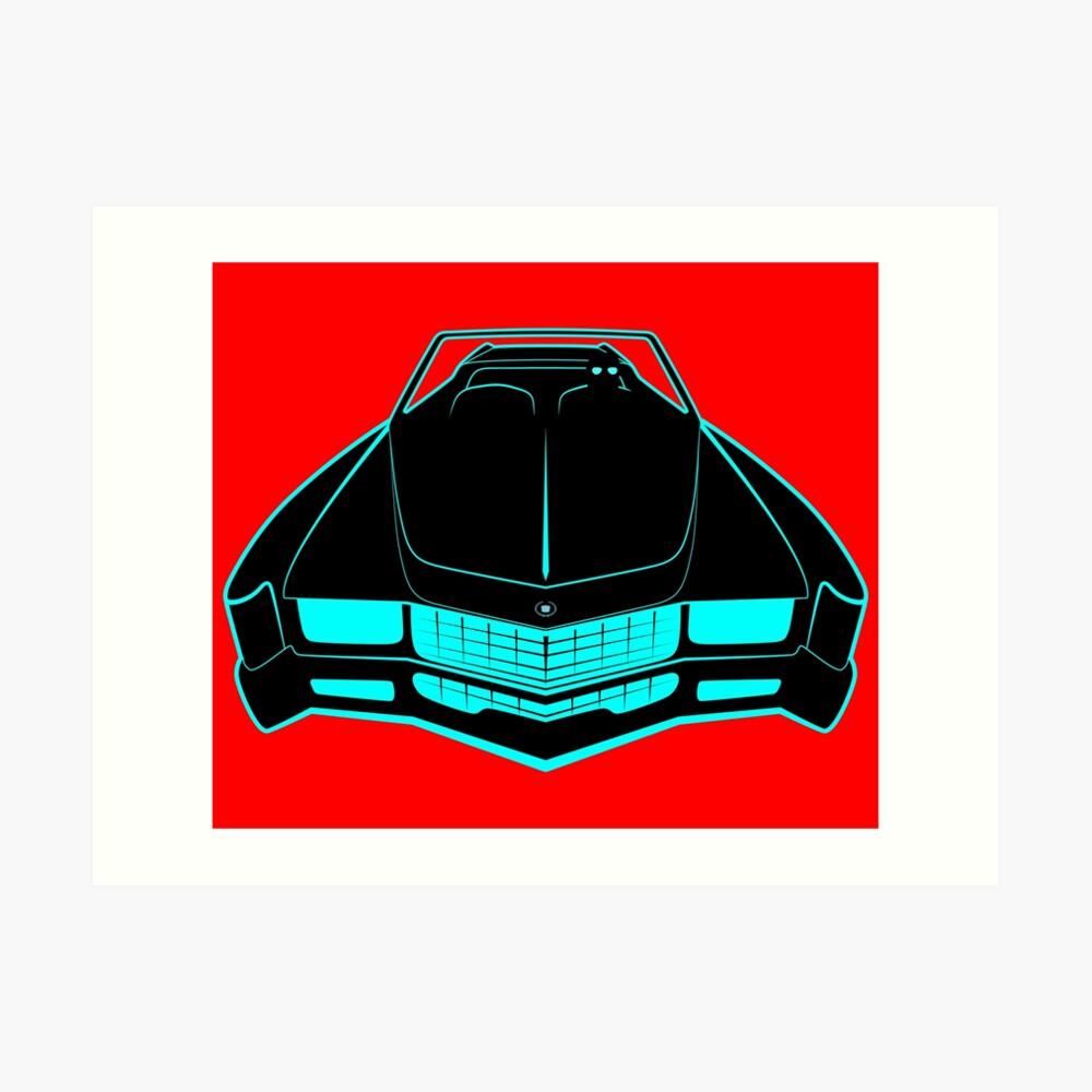 Cadillac Eldorado - Fake News Confidential Art Print