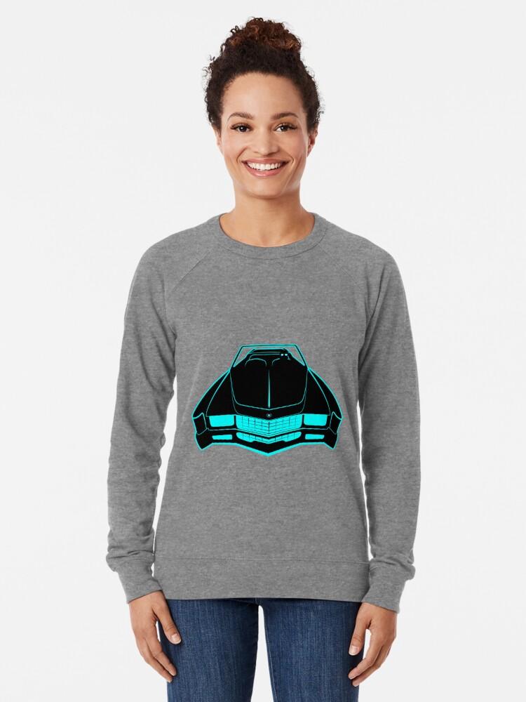 Alternate view of Cadillac Eldorado - Fake News Confidential Lightweight Sweatshirt