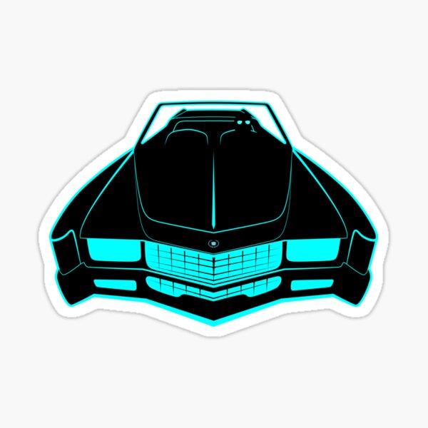 Cadillac Eldorado - Fake News Confidential Sticker