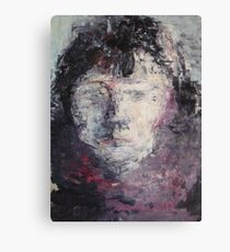 Girl in Pink Canvas Print