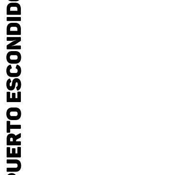 Puerto Escondido T-Shirt by designkitsch