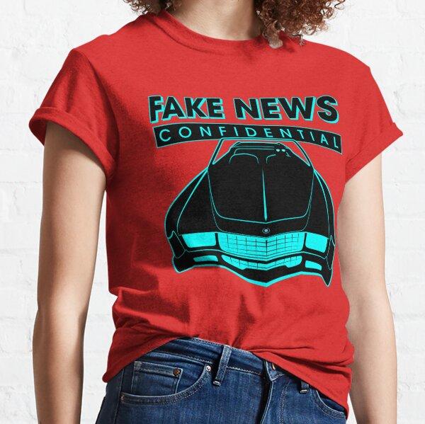 Fake News Confidential - Cadillac Eldorado Classic T-Shirt