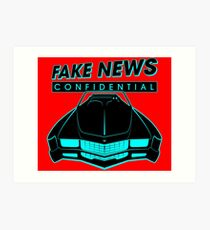 Fake News Confidential - Cadillac Eldorado Art Print