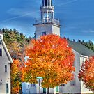 Town Hall in Washington, New Hampshire  by Monica M. Scanlan