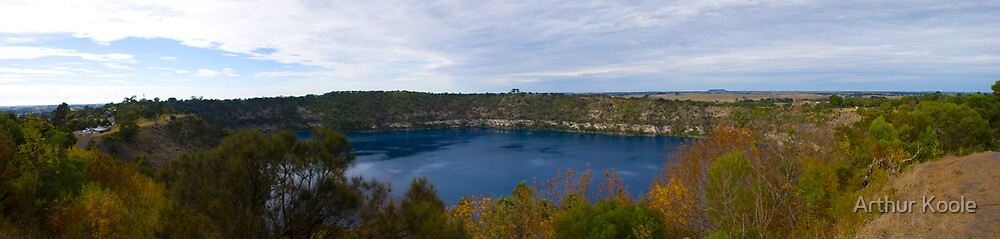 Blue Lake by Arthur Koole