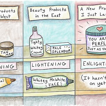 Beauty in the East vs. West -Skin Cream by kpalana