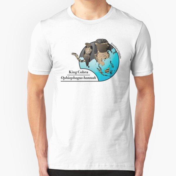 King cobra - Ophiophagus hannah Slim Fit T-Shirt