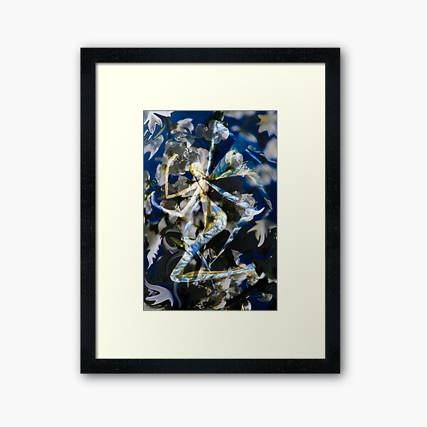 Abstract Angel Framed Art Print
