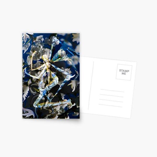 Abstract Angel Postcard