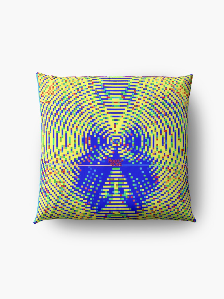 Alternate view of STR^B^LIFE (4) by RootCat  Floor Pillow