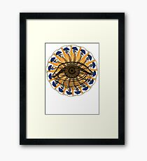 the realm of novelty Framed Print