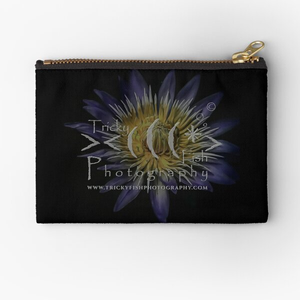 Water Lily - Tricky Fish Photography Zipper Pouch