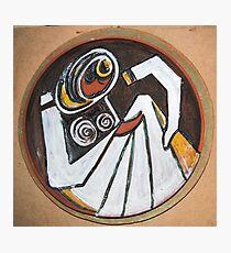 art in ceramic F.Kalemi 3 Photographic Print