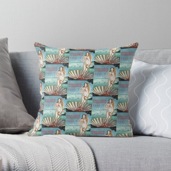 Jane Love: Movie Poster Throw Pillow