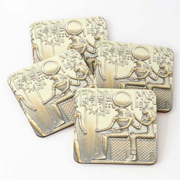 Egyptian History Coasters (Set of 4)