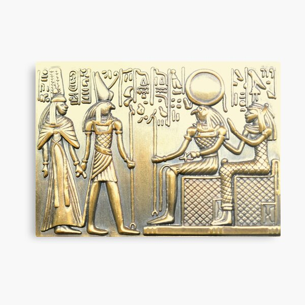 Egyptian History Metal Print