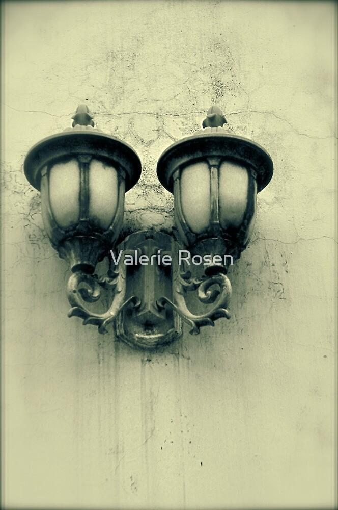 Lanterns (Sepia) by Valerie Rosen