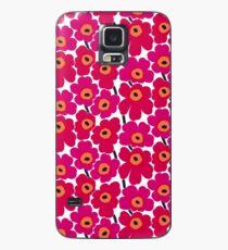Blumendruck Hülle & Klebefolie für Samsung Galaxy