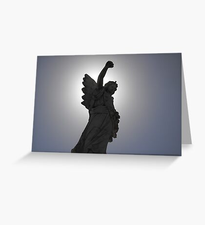 Angel of the Sun Greeting Card