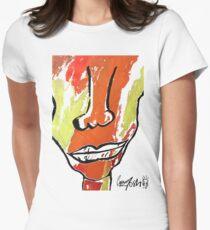 Long Neck T shirt Women's Fitted T-Shirt