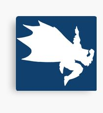 White Bat-Dab Canvas Print