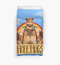 ADAM LIKES HUGS - GAY PRIDE Duvet Cover