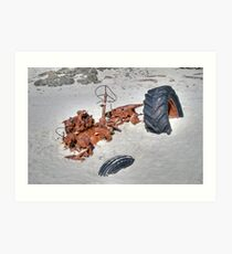 Stuck! Snelling Beach, Kangaroo Island, South Australia Art Print