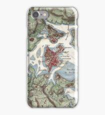 Vintage Map of Boston Harbor (1807) iPhone Case/Skin