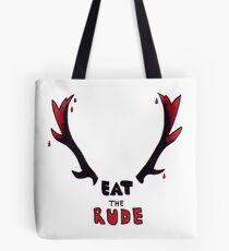 Hannibal - Eat The Rude Bloody Antlers Tote Bag