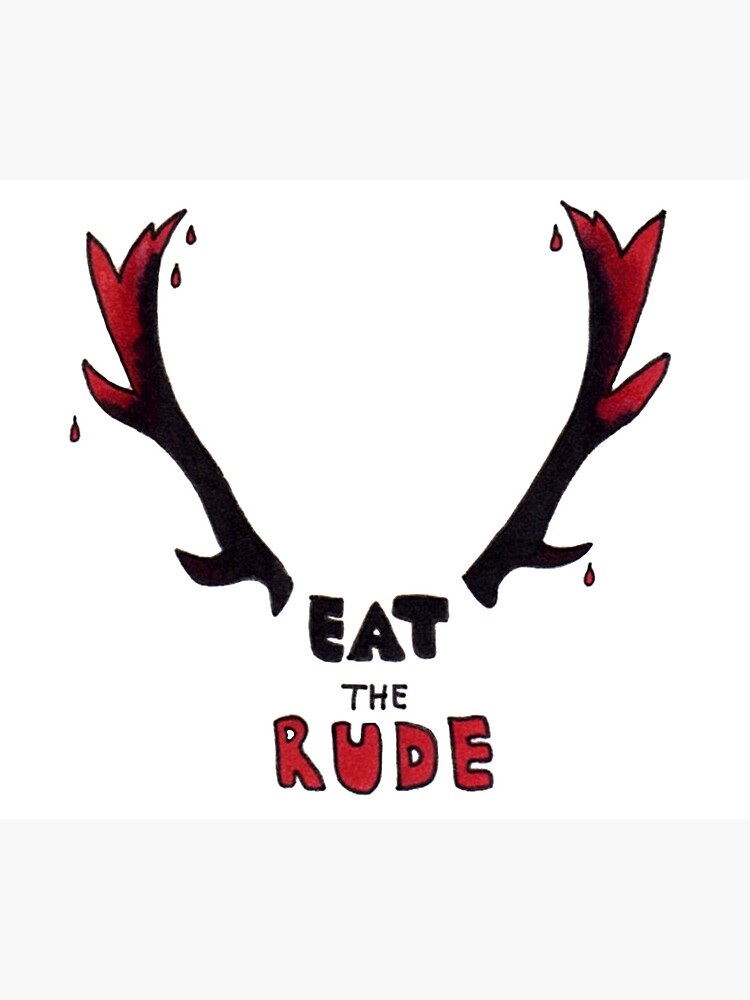 Hannibal - Eat The Rude Bloody Antlers by Fullerverse